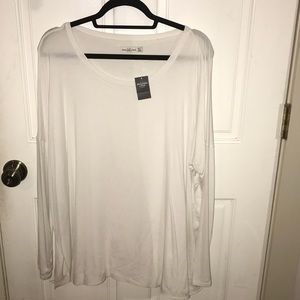Abercrombie Flowy Oversized Long Sleeve